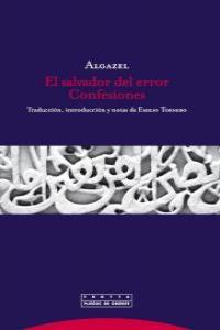 EL SALVADOR DEL ERROR. CONFESIONES: portada