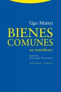 BIENES COMUNES: portada