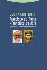 FRANCISCO DE ROMA Y FRANCISCO DE ASíS: portada