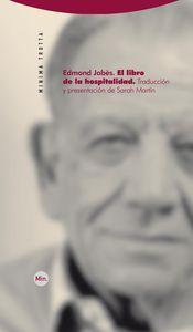 EL LIBRO DE LA HOSPITALIDAD: portada