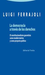 La democracia a través de los derechos: portada