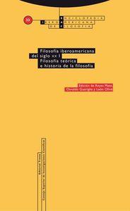 Filosofía iberoamericana del siglo XX: portada