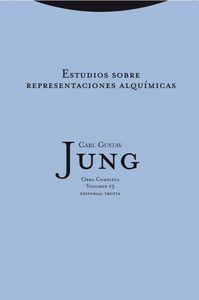 Estudios sobre las representaciones alquímicas: portada