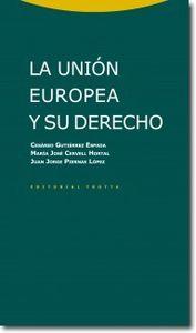 La Uni�n Europea y su derecho: portada