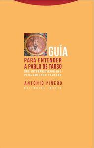Guía para entender a Pablo de Tarso: portada