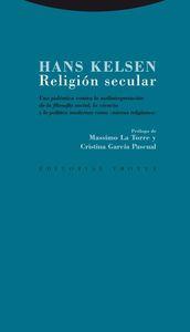 Religión secular: portada