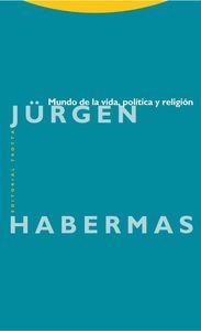 Mundo de la vida, política y religión: portada