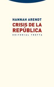 Crisis de la República: portada