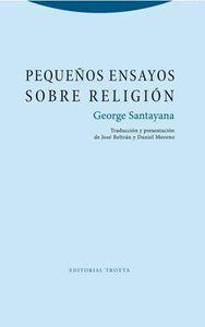Pequeños ensayos sobre religión: portada
