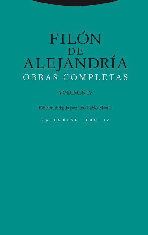 Obras Completas. Volumen IV: portada