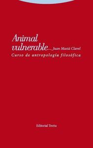 Animal vulnerable: portada