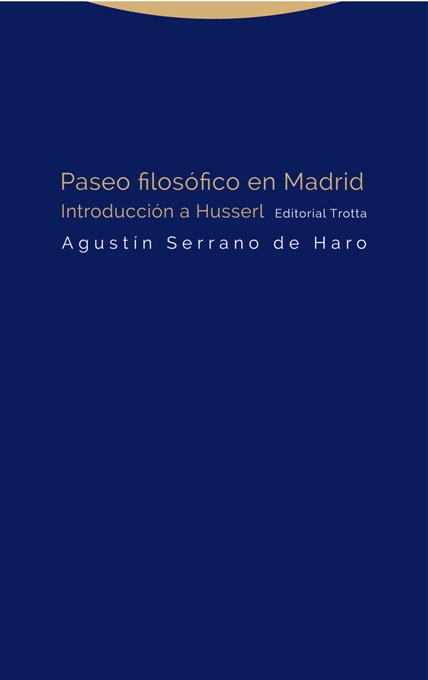 Paseo filos�fico en Madrid: portada