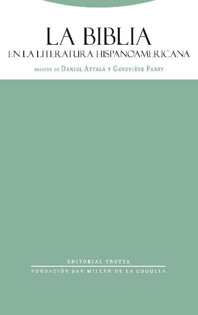 La Biblia en la literatura hispanoamericana: portada