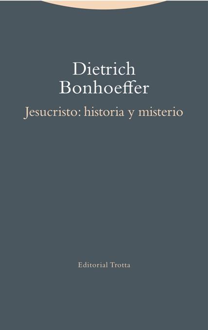 Jesucristo: historia y misterio: portada