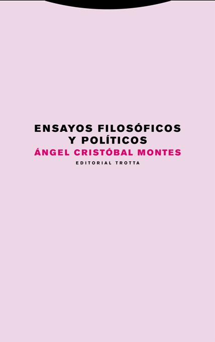 Ensayos filosóficos y políticos: portada