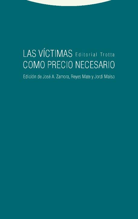 Las víctimas como precio necesario: portada