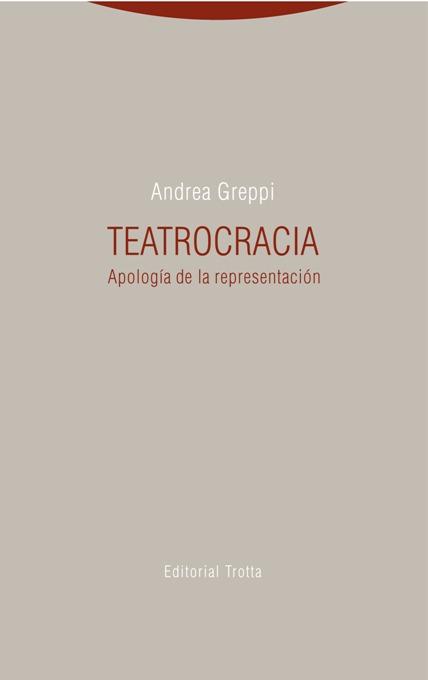 Teatrocracia: portada