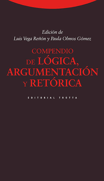 Compendio de lógica, argumentación y retórica (3ª edición): portada