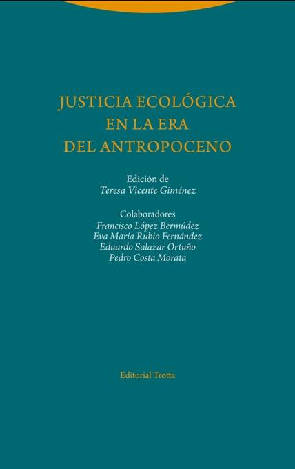 Justicia ecológica en la era del Antropoceno: portada