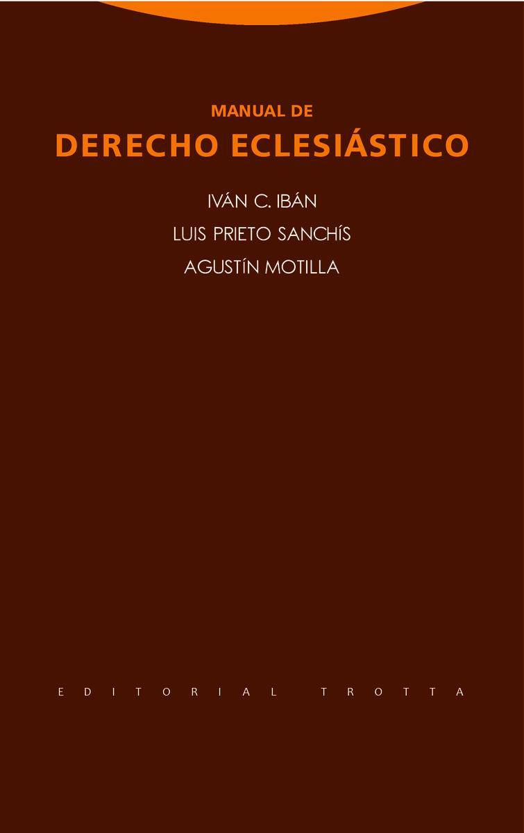 Manual de Derecho Eclesiástico: portada