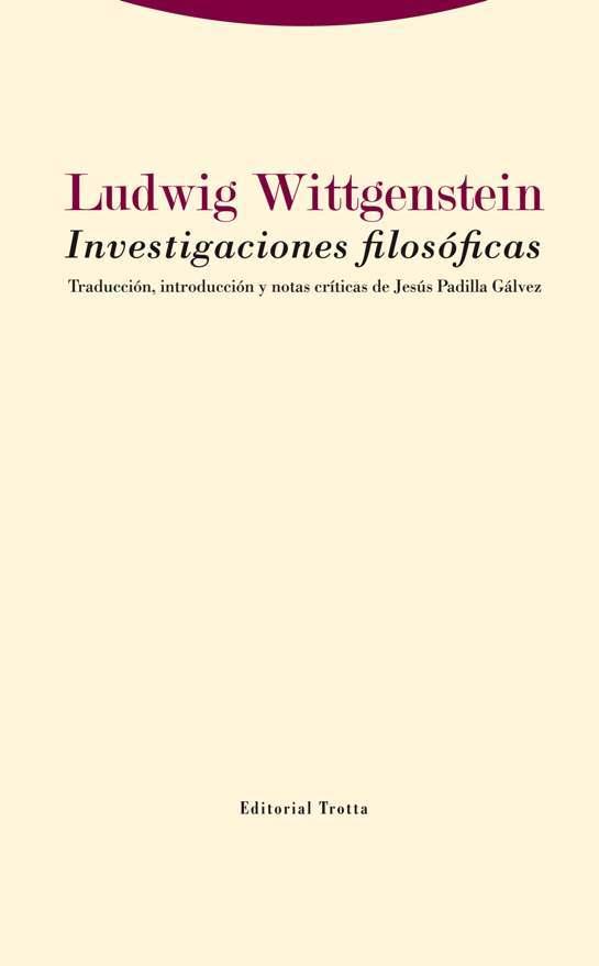 Investigaciones filosóficas: portada