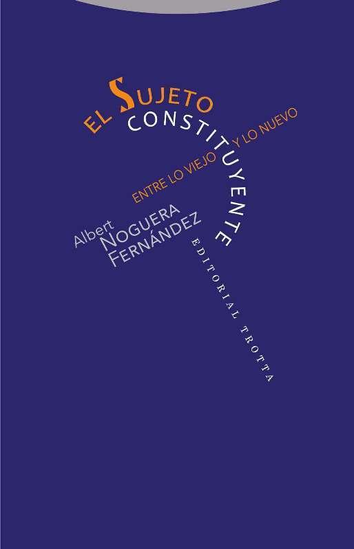 El sujeto constituyente: portada