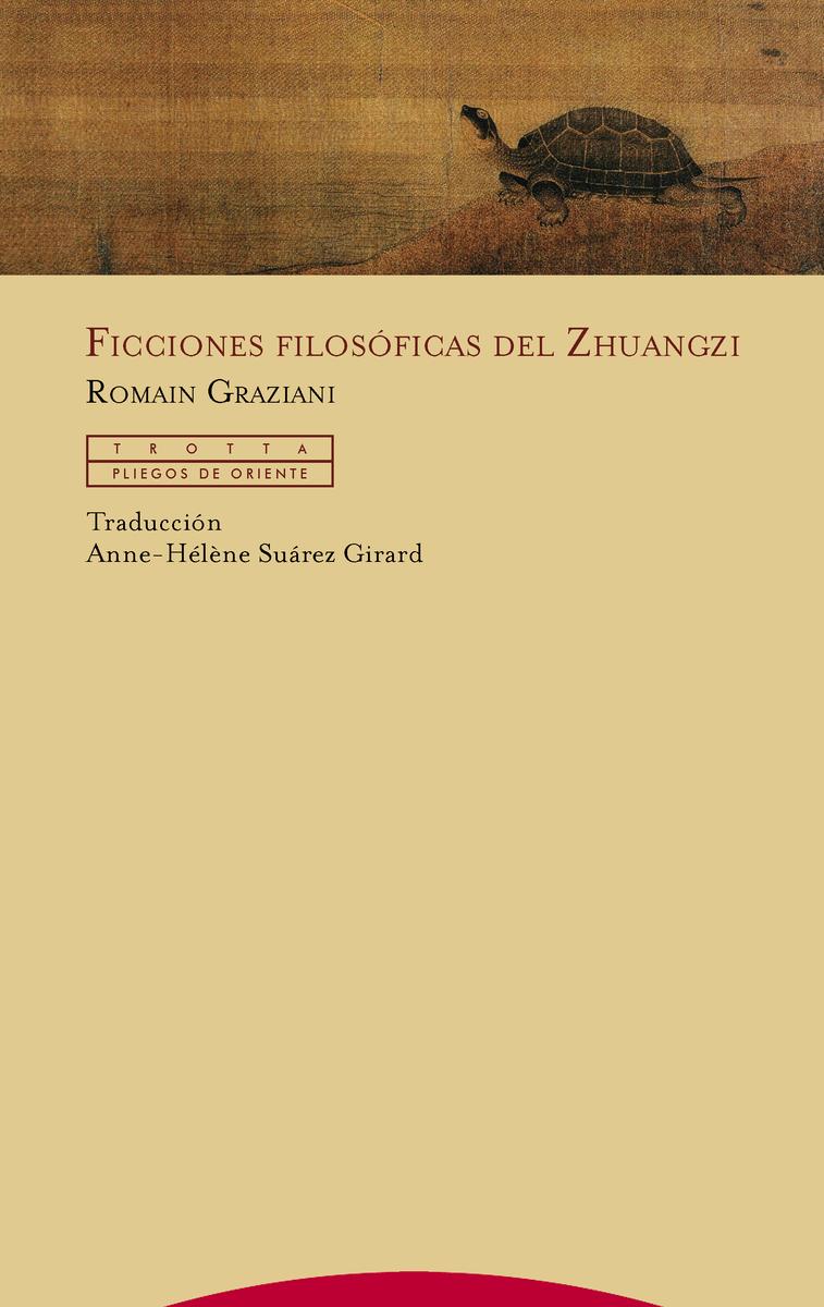 Ficciones filosóficas del Zhuangzi: portada