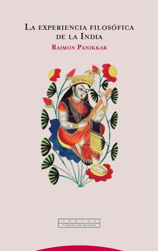 La experiencia filosófica de la India (NE): portada