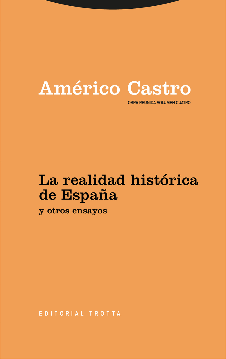 La realidad histórica de España y otros ensayos: portada