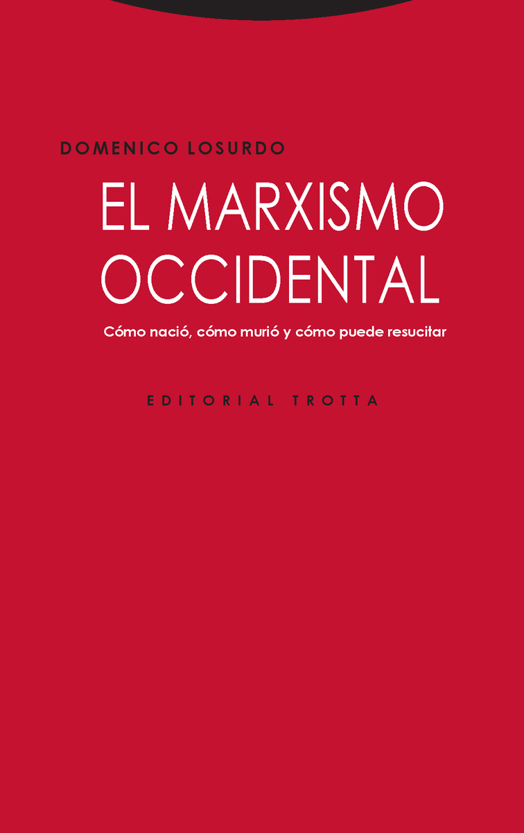 El marxismo occidental: portada