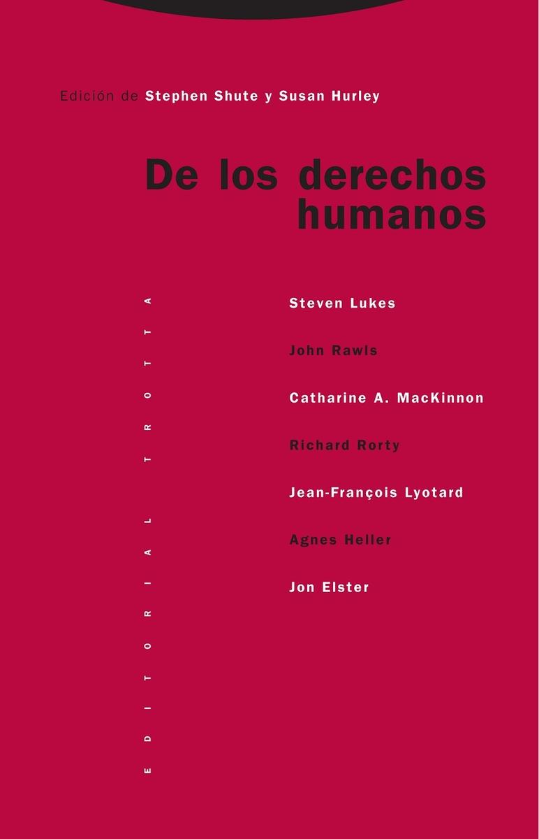 De los derechos humanos (NE): portada