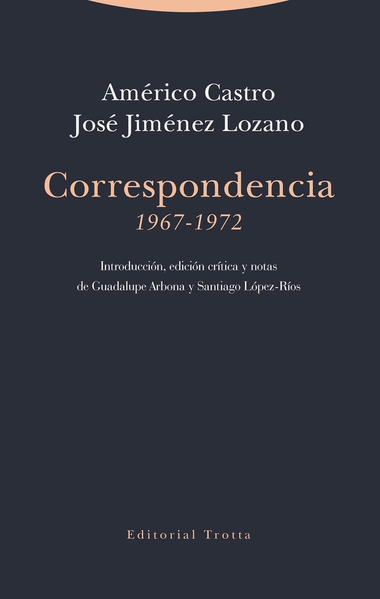 Correspondencia (1967-1972): portada