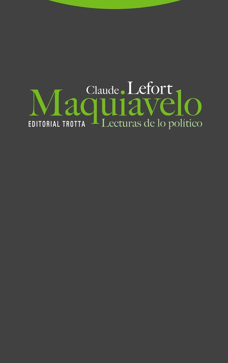 Maquiavelo (NE): portada