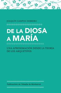 DE LA DIOSA A MARÍA: portada