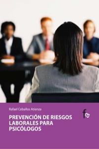 PREVENCION DE RIESGOS LABORALES PARA PSICOLOGOS: portada