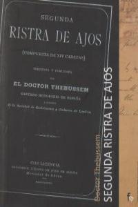 SEGUNDA RISTRA DE AJOS: portada