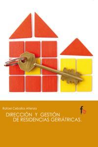DIRECCION Y GESTION DE RESIDENCIAS GERIATRICAS: portada