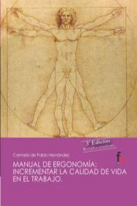 MANUAL DE ERGONOMIA 3ªED: portada