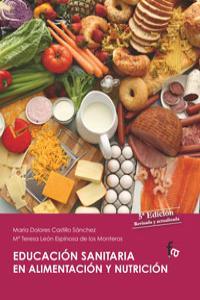 EDUCACION SANITARIA EN ALIMENTACION Y NUTRICION: portada