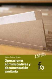 OP.ADMINISTRATIVAS Y DOCUMENTACION SANITARIA 2�ED: portada