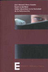 LEER O NO LEER: portada