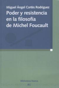 PODER Y RESISTENCIA EN LA FILOSOFíA DE MICHEL FOUCAULT: portada
