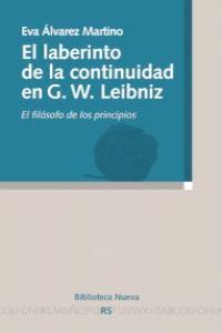 IEL LABERINTO DE LA CONTINUIDAD EN G. W. LEIBNIZ: portada