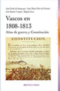 VASCOS EN 1808-1813: portada