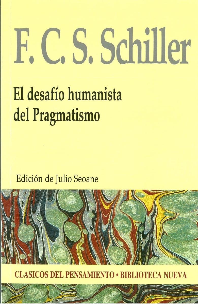 EL DESAFÍO HUMANISTA DEL PRAGMATISMO: portada