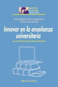 INNOVAR EN LA ENSEñANZA UNIVERSITARIA: portada
