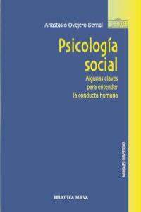 PSICOLOGÍA SOCIAL: portada