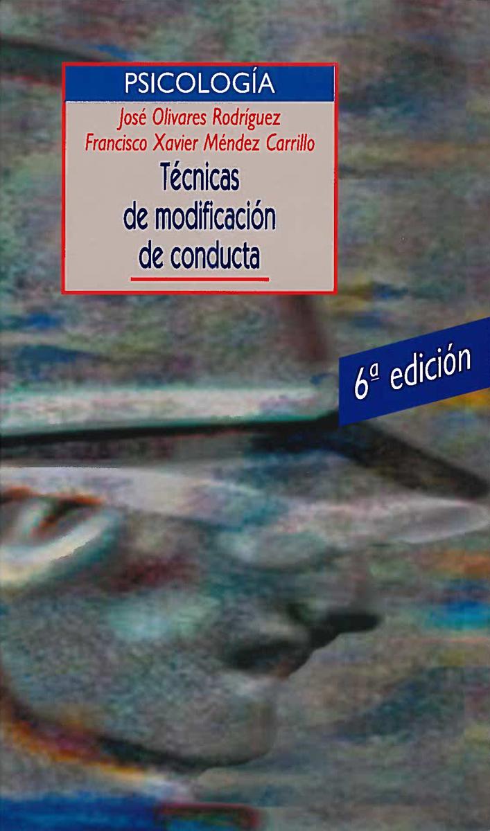 TéCNICAS DE MODIFICACIóN DE CONDUCTA: portada