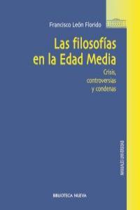 LAS FILOSOFíAS EN LA EDAD MEDIA: portada