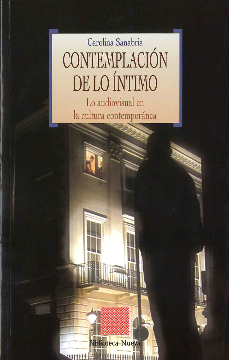 CONTEMPLACIÓN DE LO ÍNTIMO: portada
